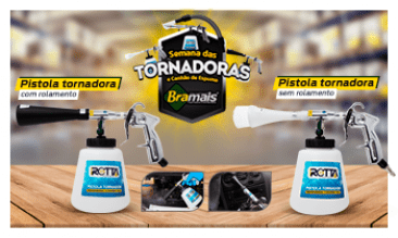 PISTOLA TORNADORA COM ROLAMENTO